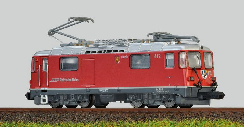 画像1: 鉄道模型 MDS-Modell レーティッシュ鉄道 RhB Ge4/4 II 電気機関車 Nゲージ
