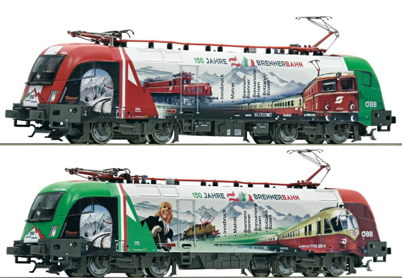 画像1: 鉄道模型 フライシュマン Fleischmann 731127 OBB Rh 1116 159-5 電気機関車 Nゲージ