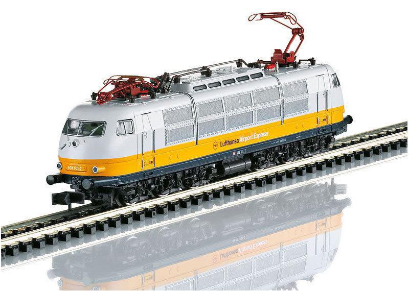 画像1: 鉄道模型 ミニトリックス MINITRIX 16303 DB BR 103 Lufthansa Airport Express 電気機関車 Nゲージ