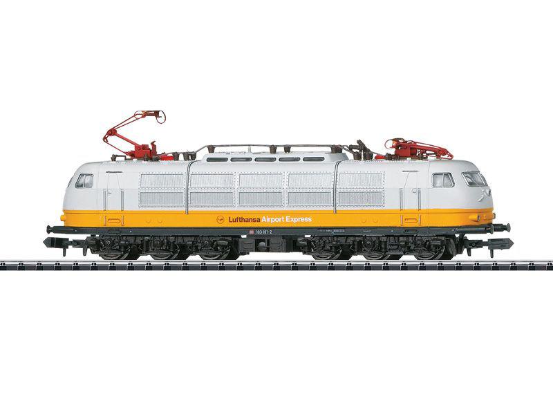 画像2: 鉄道模型 ミニトリックス MINITRIX 16303 DB BR 103 Lufthansa Airport Express 電気機関車 Nゲージ