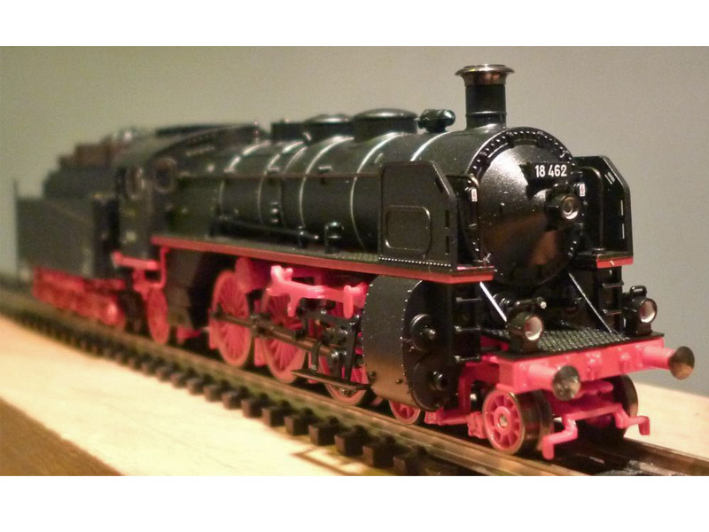 画像2: 鉄道模型 ミニトリックス MiniTrix 12234 蒸気機関車 SL BR 18.4 DB Nゲージ