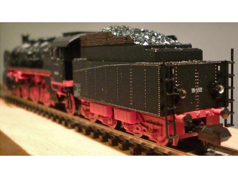 画像3: 鉄道模型 ミニトリックス MiniTrix 12234 蒸気機関車 SL BR 18.4 DB Nゲージ