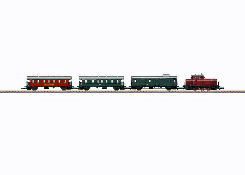 画像1: 鉄道模型 メルクリン Marklin 81871 ミニクラブ mini-club スターターセット Zゲージ