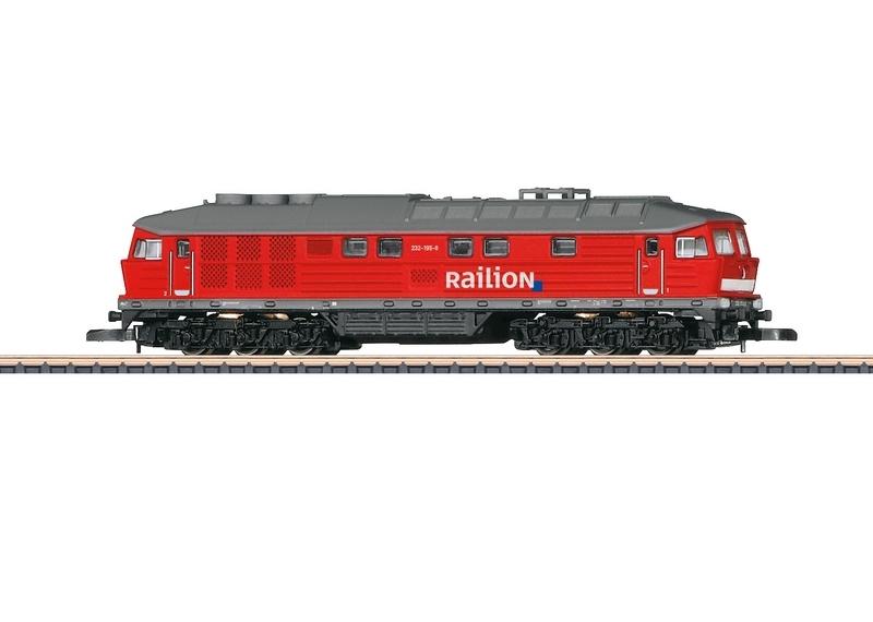 画像1: 鉄道模型 メルクリン Marklin 88135 ミニクラブ mini-club 232 Railion ディーゼル機関車 Zゲージ