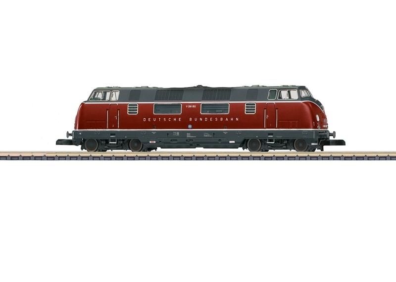 画像1: 鉄道模型 メルクリン Marklin 88203 ミニクラブ mini-club DB V200形 ディーゼル機関車 Zゲージ