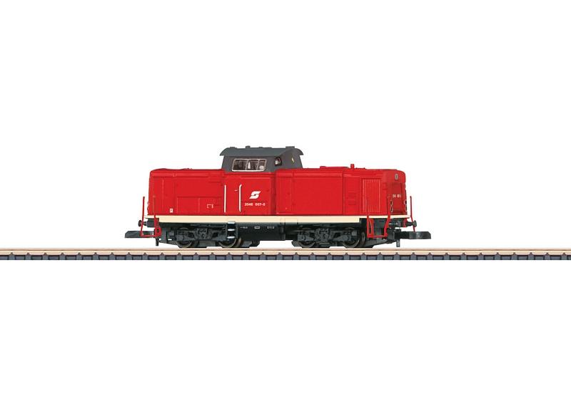 画像1: 鉄道模型 メルクリン Marklin 88218 ミニクラブ mini-club OBB 2048形 ディーゼル機関車 Zゲージ