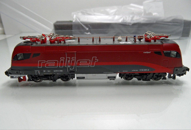 画像4: 鉄道模型 ホビートレイン HobbyTrain 25200/25201 Railjet レイルジェット 8両セット Nゲージ