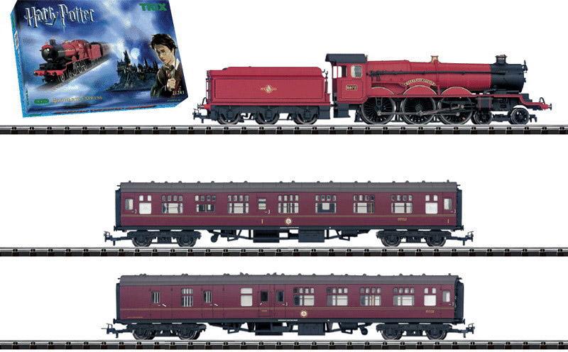 画像1: 鉄道模型 トリックス Trix 21243 ハリーポッター Harry Potter 急行列車セット 限定品 HOゲージ