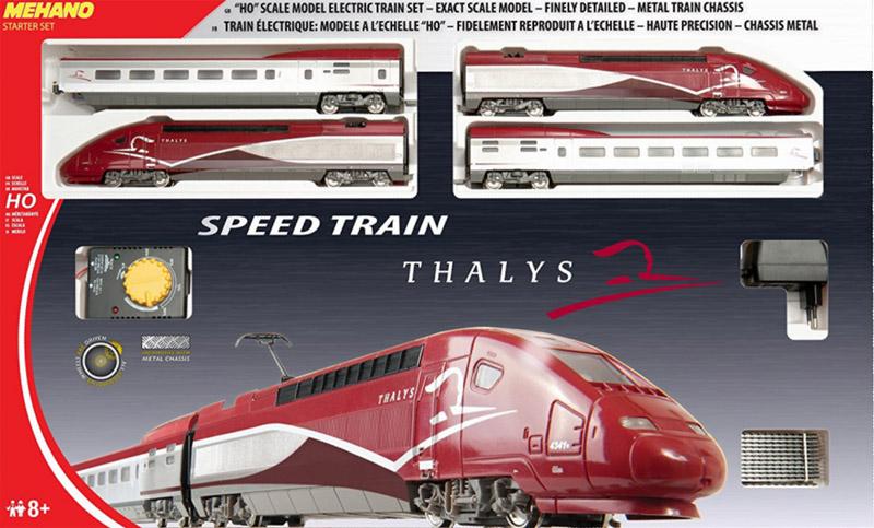 画像1: 鉄道模型 Mehano T106 TGV タリス THALYS スターターセット HOゲージ