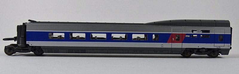 画像1: 鉄道模型 ジュエフ Jouef 4091 TGV 中間車 BAR 客車 HOゲージ