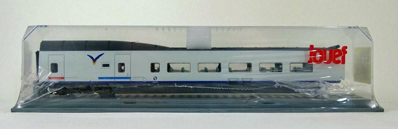 画像1: 鉄道模型 ジュエフ Jouef 594500 AVE 中間車 客車 HOゲージ