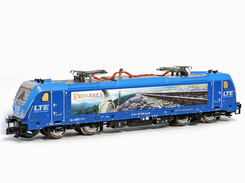 画像1: 鉄道模型 フライシュマン Fleischmann 738973 BR 187, LTE 電気機関車 Nゲージ