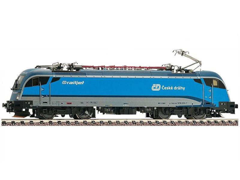 画像1: 鉄道模型 フライシュマン Fleischmann 731287 CD Rh 1216 233-7 電気機関車 Nゲージ