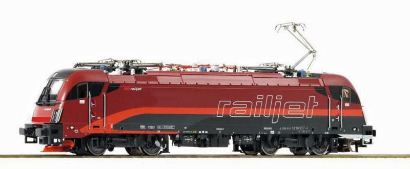 画像1: 鉄道模型 ロコ Roco 73248 Rh 1116 RAILJET DCC Sound 電気機関車 HOゲージ