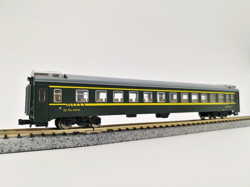 画像4: 鉄道模型 KUNTER 中国 YZ25K 客車3両セット Nゲージ