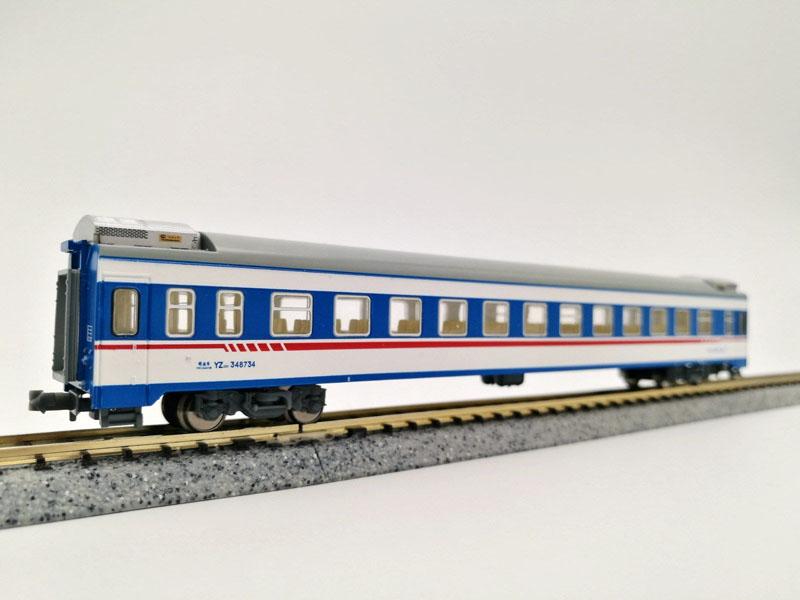 画像3: 鉄道模型 KUNTER 中国 YZ25K 客車3両セット Nゲージ