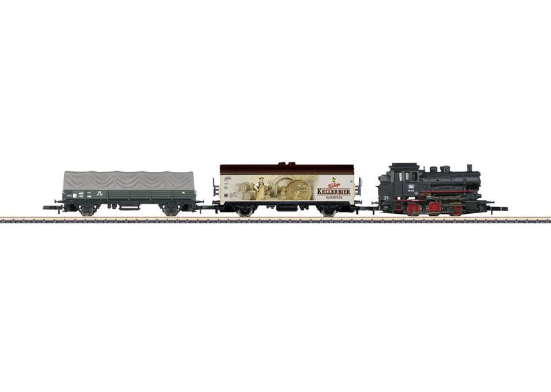 画像1: 鉄道模型 メルクリン Marklin 81701 ミニクラブ mini-club Treno Merci 貨物列車 スターターセット Zゲージ