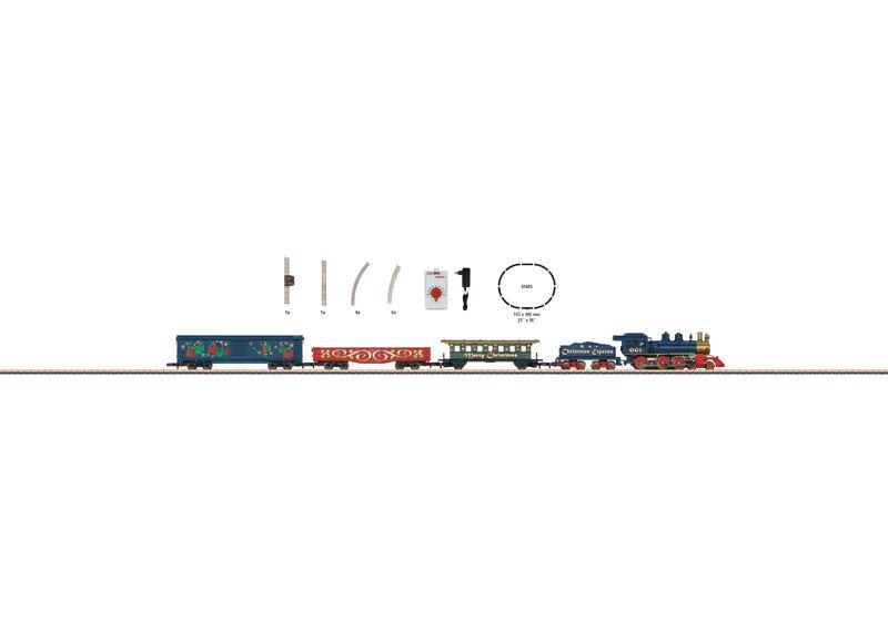 画像1: 鉄道模型 メルクリン Marklin 81845 ミニクラブ mini-club クリスマス列車 スターターセット Zゲージ