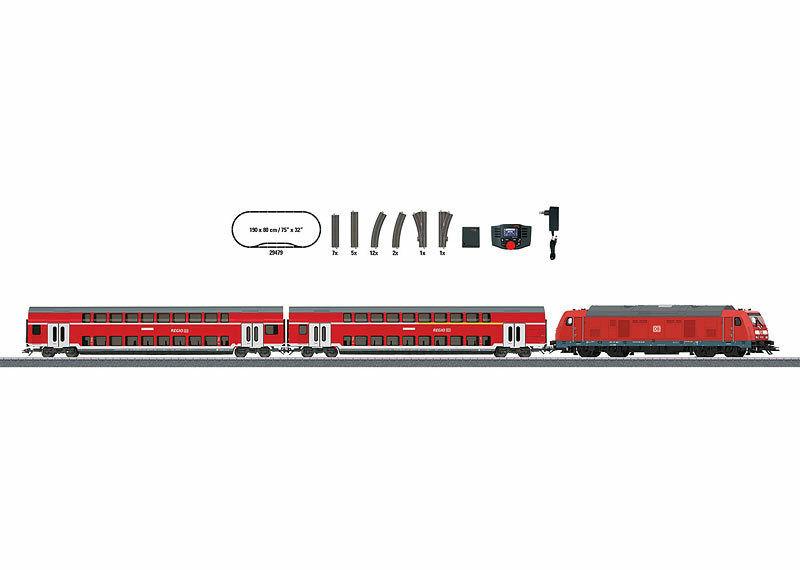 画像1: 鉄道模型 メルクリン Marklin 29479 Regional Express デジタルスターターセット HOゲージ