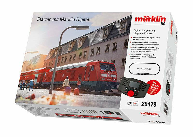 画像2: 鉄道模型 メルクリン Marklin 29479 Regional Express デジタルスターターセット HOゲージ