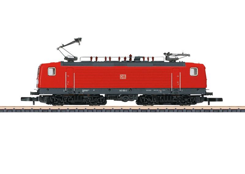 画像1: 鉄道模型 メルクリン Marklin 88438 ミニクラブ mini-club (DB AG) 143  電気機関車 Zゲージ