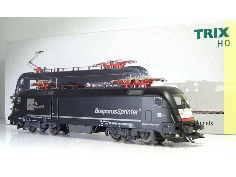 画像2: 鉄道模型 TRIX トリックス Trix 22642 ES64 U2-067 Taurus 電気機関車 HOゲージ
