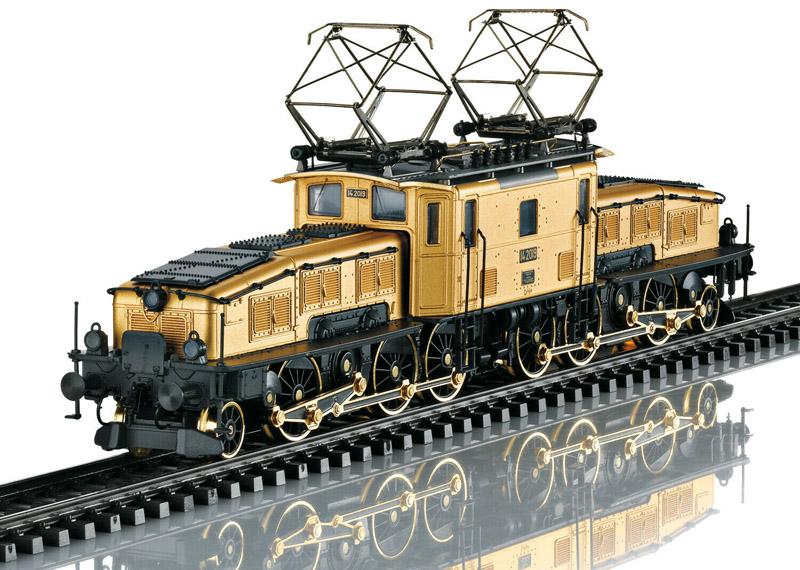 画像1: 鉄道模型 メルクリン Marklin 32560 Ce 6/8 II クロコダイル GOLD 電気機関車 HOゲージ