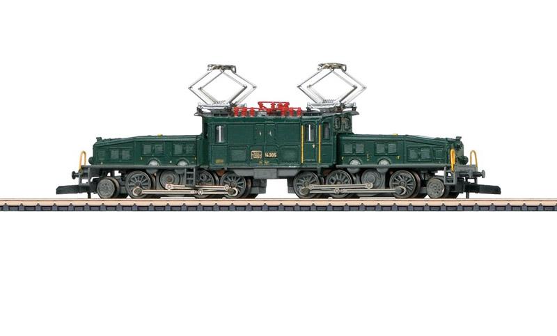 画像1: 鉄道模型 メルクリン Marklin 88564 ミニクラブ mini-club Ce 6/8 III クロコダイル 電気機関車 Zゲージ