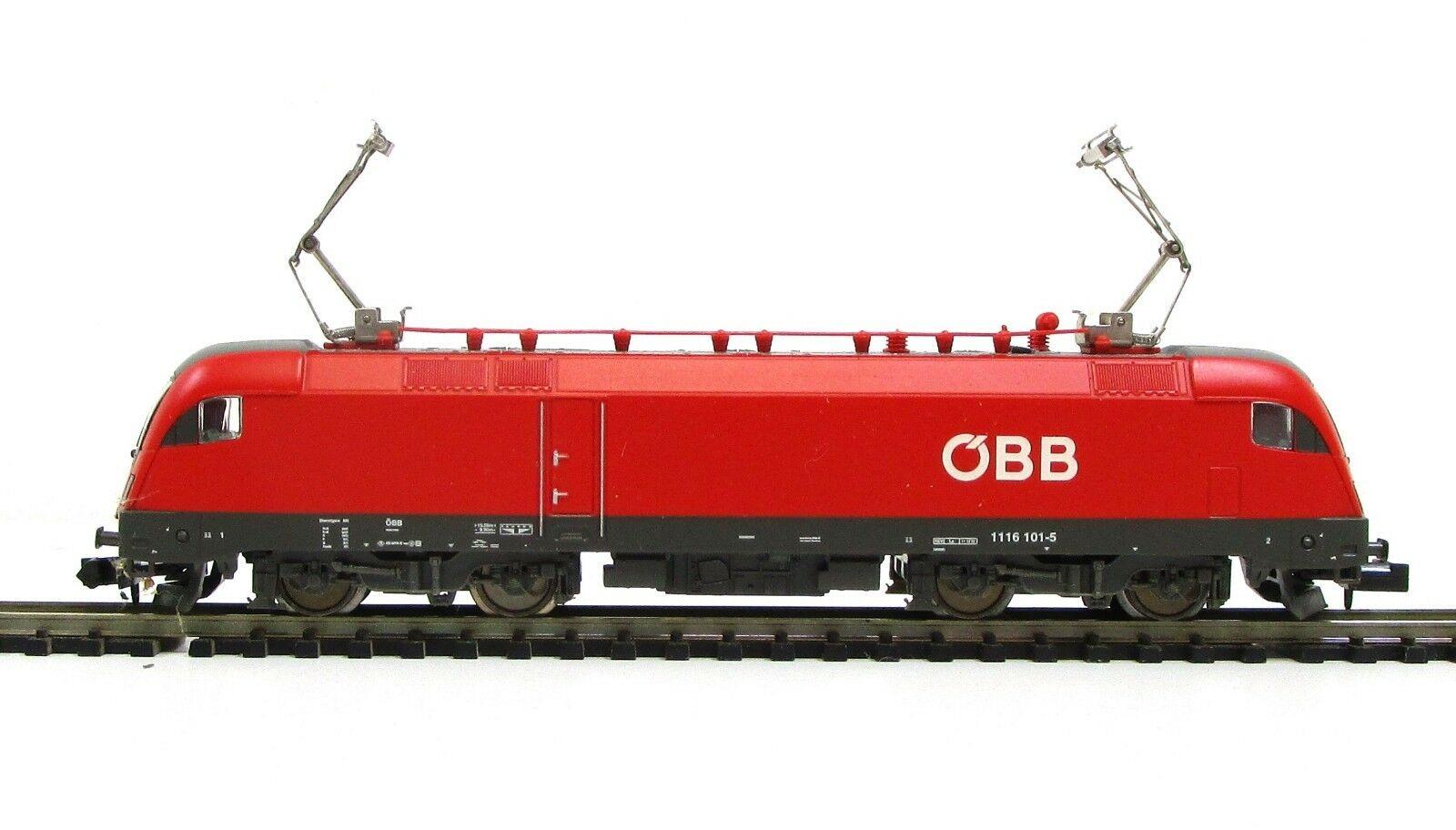 画像3: 鉄道模型 ミニトリックス MiniTrix 12764 OBB BR 1116 101-5 電気機関車 Nゲージ