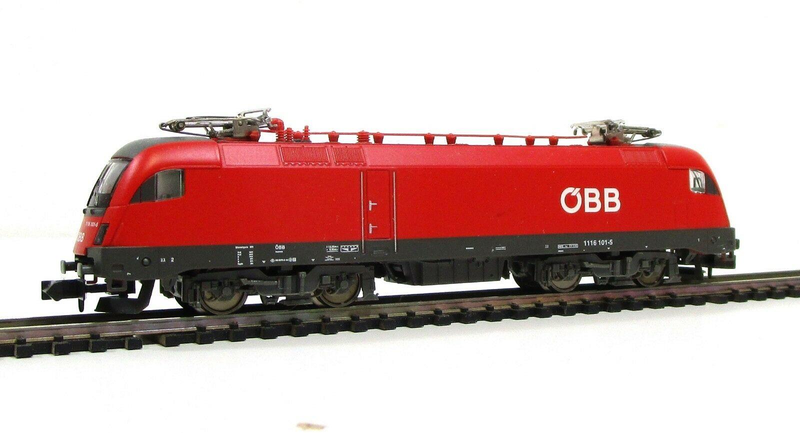 画像1: 鉄道模型 ミニトリックス MiniTrix 12764 OBB BR 1116 101-5 電気機関車 Nゲージ