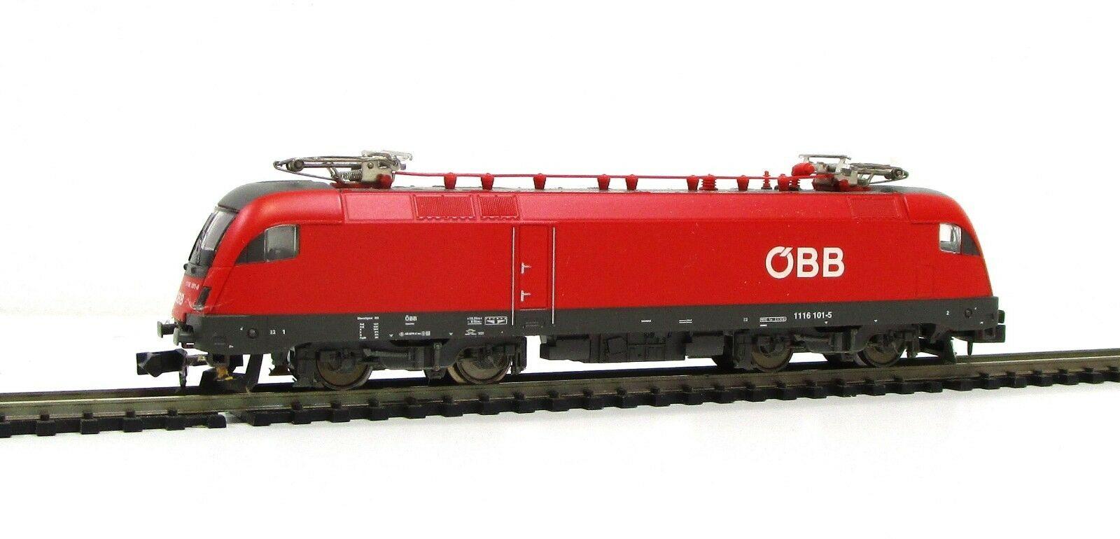 画像2: 鉄道模型 ミニトリックス MiniTrix 12764 OBB BR 1116 101-5 電気機関車 Nゲージ