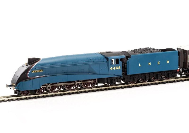 画像2: 鉄道模型 HORNBY ホーンビィ R3371 LNER 4468 A4 マラード号 蒸気機関車 OOゲージ