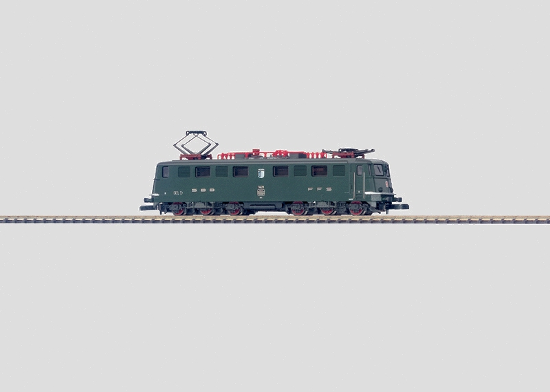 画像1: 鉄道模型 メルクリン Marklin 88501 ミニクラブ mini-club SBB Ae 6/6 電気機関車 Zゲージ