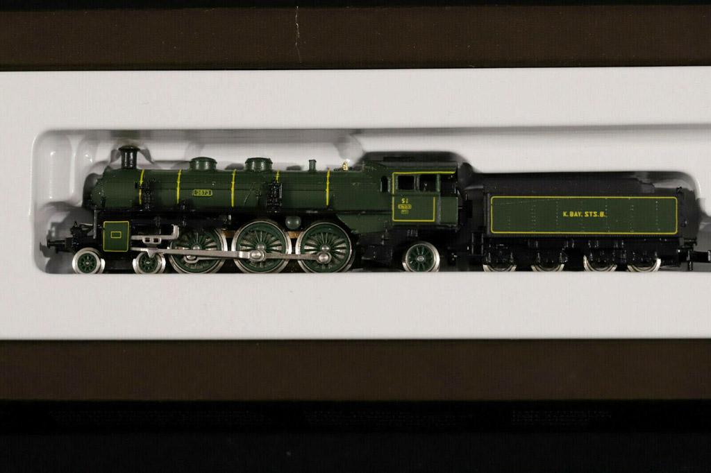 画像3: 鉄道模型 メルクリン Marklin 8892 mini-club ミニクラブ Dampflok S 3/6 + 8730 蒸気機関車+客車4両セット Zゲージ