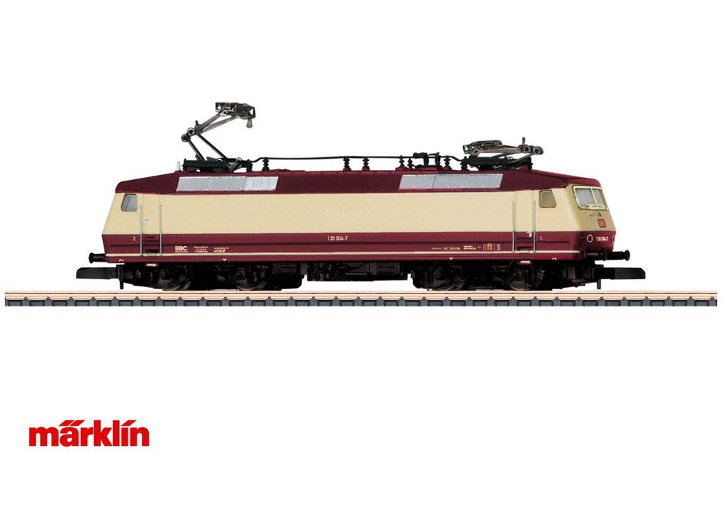 画像1: 鉄道模型 メルクリン Marklin 88527 ミニクラブ mini-club DB 120 電気機関車 Zゲージ