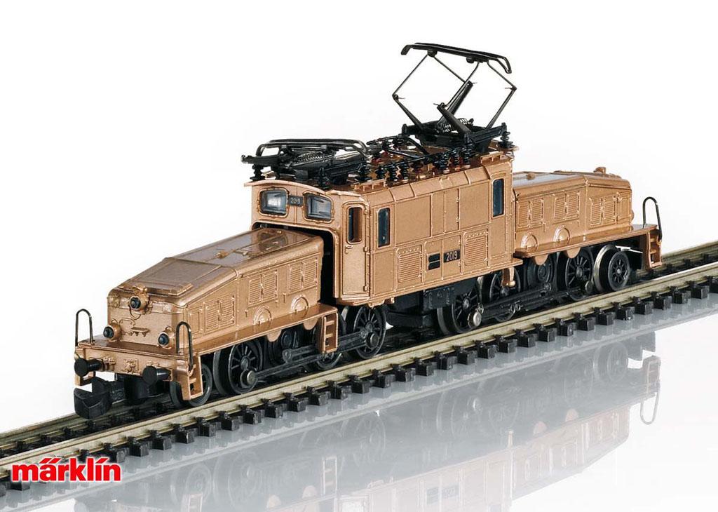 画像1: 鉄道模型 メルクリン Marklin 88565 ミニクラブ mini-club Ce 6/8 III クロコダイル 電気機関車 Zゲージ