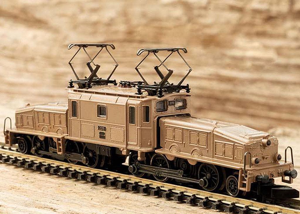 画像3: 鉄道模型 メルクリン Marklin 88565 ミニクラブ mini-club Ce 6/8 III クロコダイル 電気機関車 Zゲージ