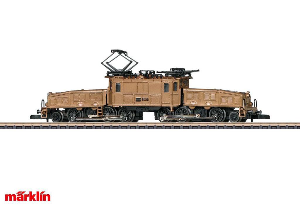 画像2: 鉄道模型 メルクリン Marklin 88565 ミニクラブ mini-club Ce 6/8 III クロコダイル 電気機関車 Zゲージ