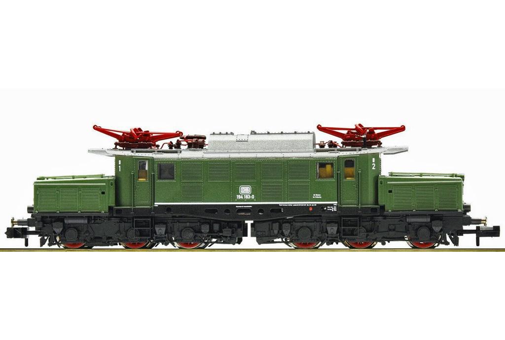 画像1: 鉄道模型 フライシュマン Fleischmann 931886-1 DB BR 194 183-0 電気機関車 Nゲージ
