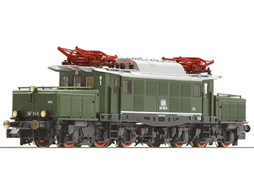 画像2: 鉄道模型 フライシュマン Fleischmann 931886-1 DB BR 194 183-0 電気機関車 Nゲージ