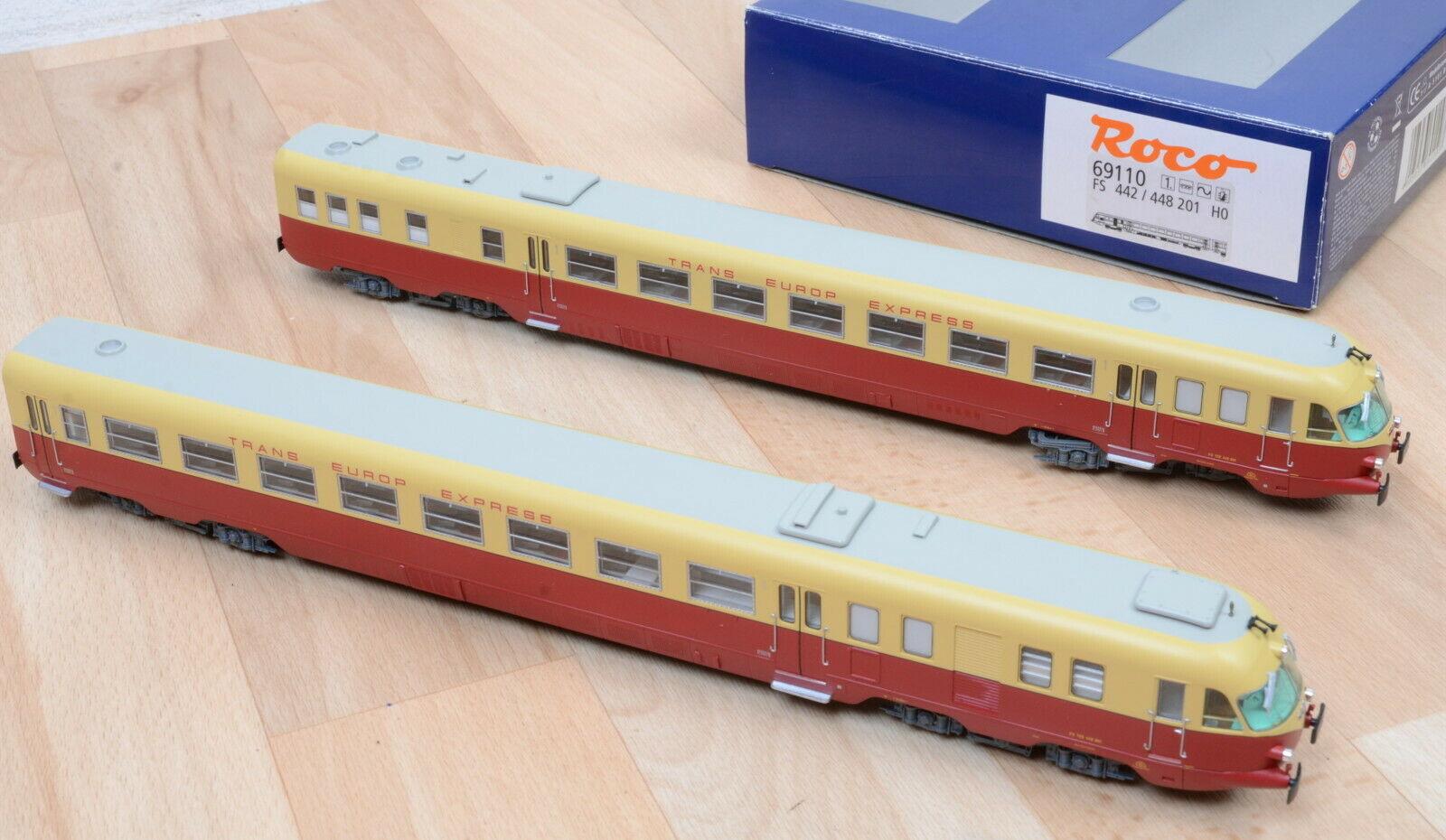 画像1: 鉄道模型 ロコ Roco 69110 TEE ALn 442/448 気動車 2両セット HOゲージ