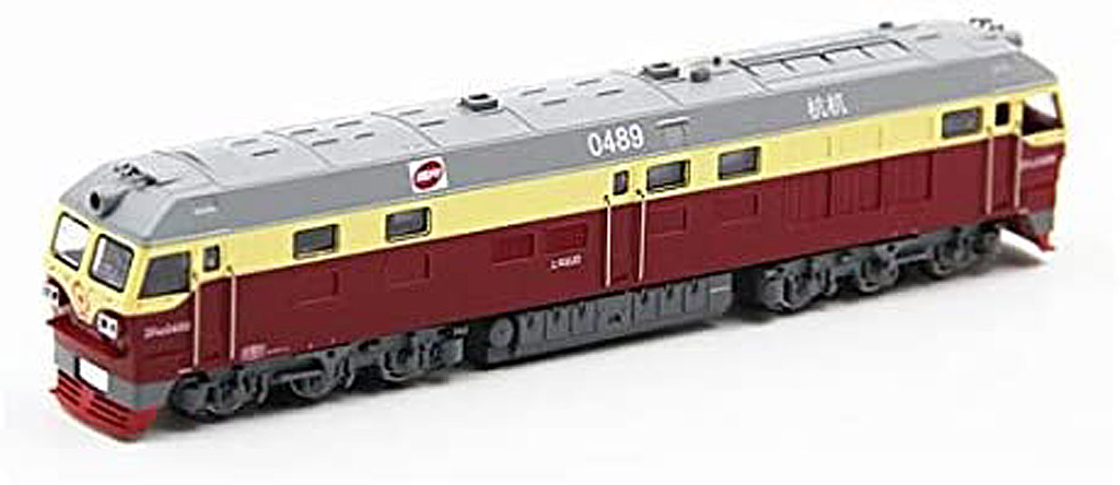 画像1: 鉄道模型 CMR LINE DF4D 東風4D ワインレッド ディーゼル機関車 Nゲージ