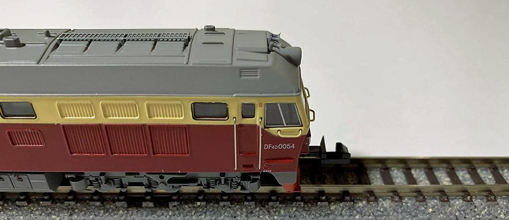 画像4: 鉄道模型 CMR LINE DF4D 東風4D ワインレッド ディーゼル機関車 Nゲージ