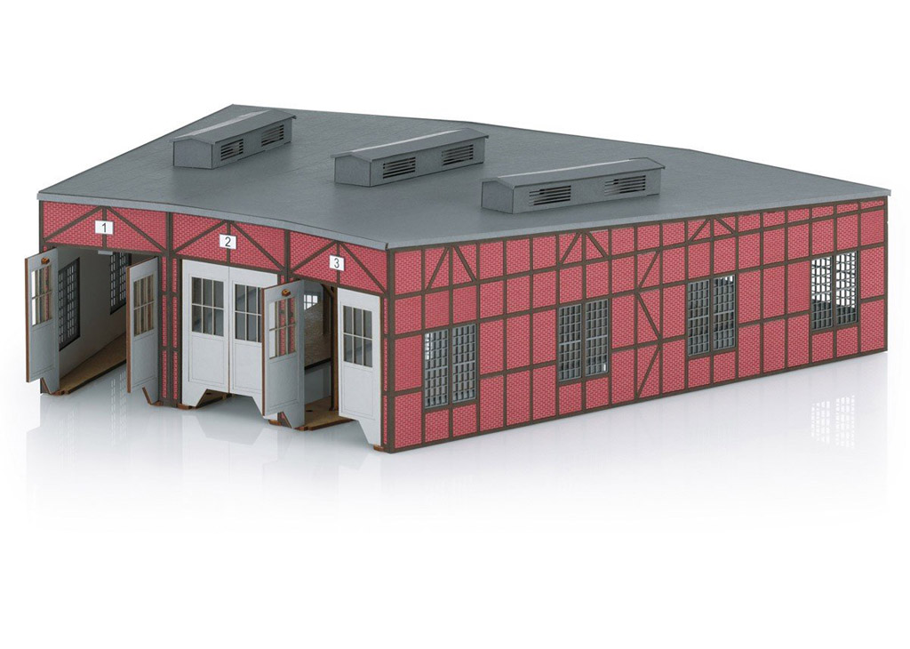 画像1: 鉄道模型 メルクリン Marklin 72886 扇形庫 ラウンドハウス HOゲージ