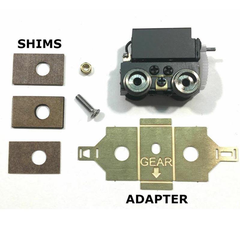 画像2: 鉄道模型 9mm Power Truck Unit by Showcase Miniatures パワートラック 組み立てキット Nゲージ