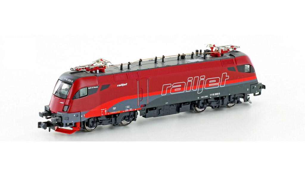 画像1: 鉄道模型 ホビートレイン HobbyTrain 2785 OBB RH 1116 Railjet 電気機関車 Nゲージ