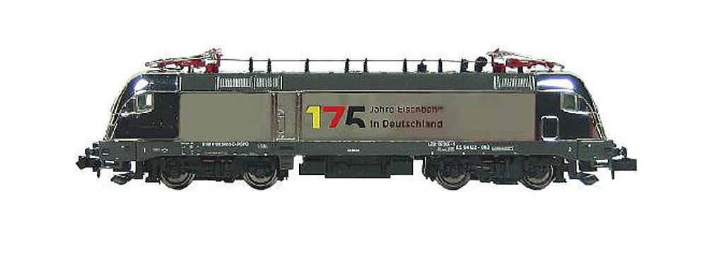 画像1: 鉄道模型 ホビートレイン HobbyTrain 2758 BR 182 Taurus 175 Jahre Bahn 電気機関車 Nゲージ
