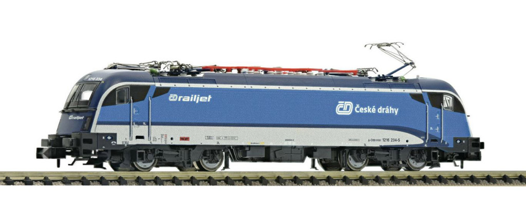 画像1: 鉄道模型 フライシュマン Fleischmann 781873 Taurus Rh 1216 電気機関車 Nゲージ