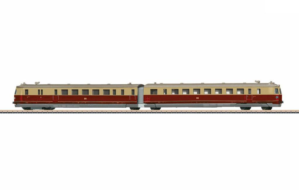 画像1: 鉄道模型 Marklin メルクリン mini-club ミニクラブ 88874 ディーゼル急行列車 DDR BR 183 Zゲージ